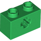 LEGO Technic Brick 1 x 2 with Axle Hole (New Style with 'X' Opening) (32064)