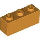 LEGO Medium Orange Brick 1 x 3 (3622)