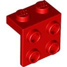 LEGO Red Bracket 1 x 2 - 2 x 2 (21712 / 44728)
