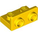LEGO Yellow Bracket 1 x 2 - 1 x 2 Up (99780)